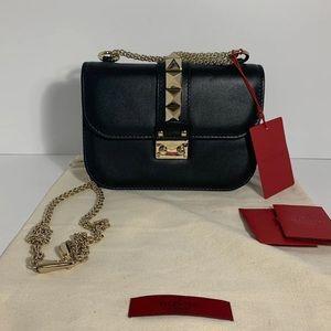 Valentino Garavani Shoulder Bag- Black